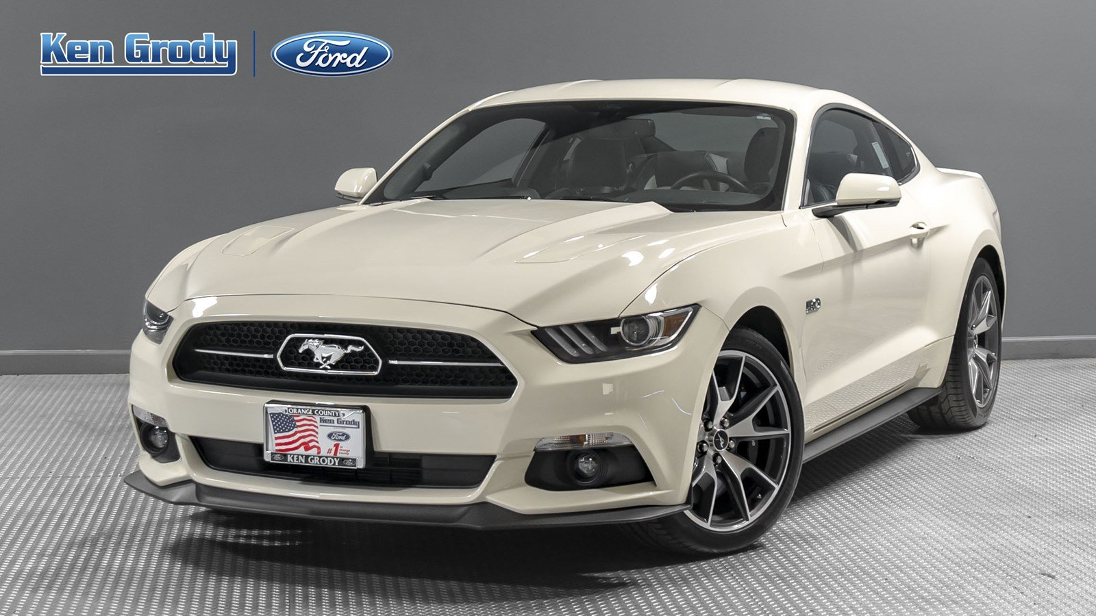 Certified pre owned 2015 ford mustang gt 50 years limited edition
