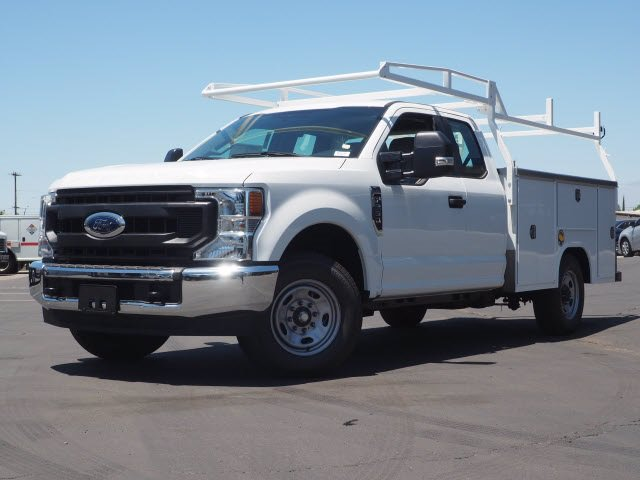 New 2020 Ford Super Duty F-250 SRW XL With 8 Utility