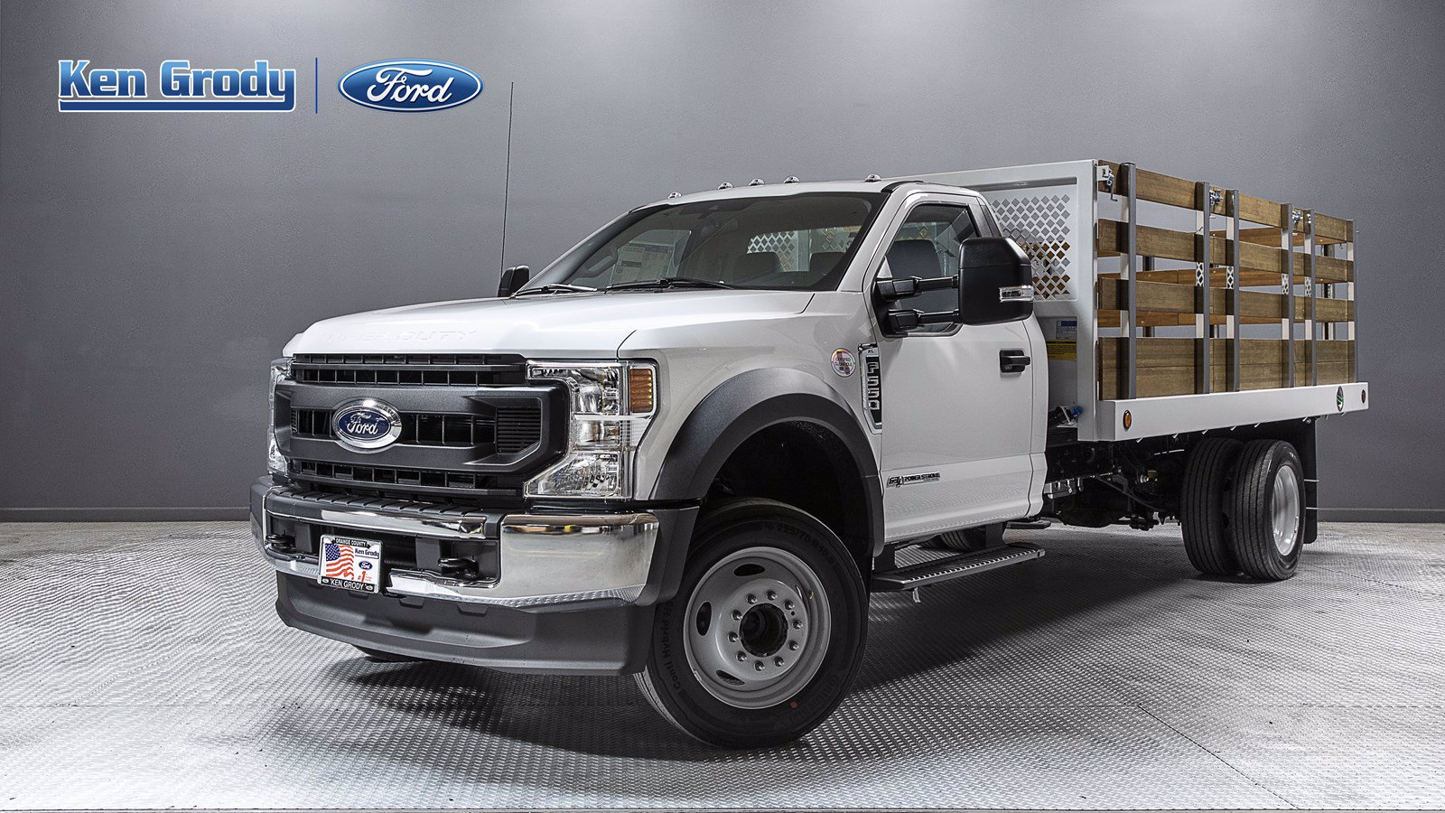 New 2020 Ford Super Duty F-550 DRW XL With 14 Stakebed
