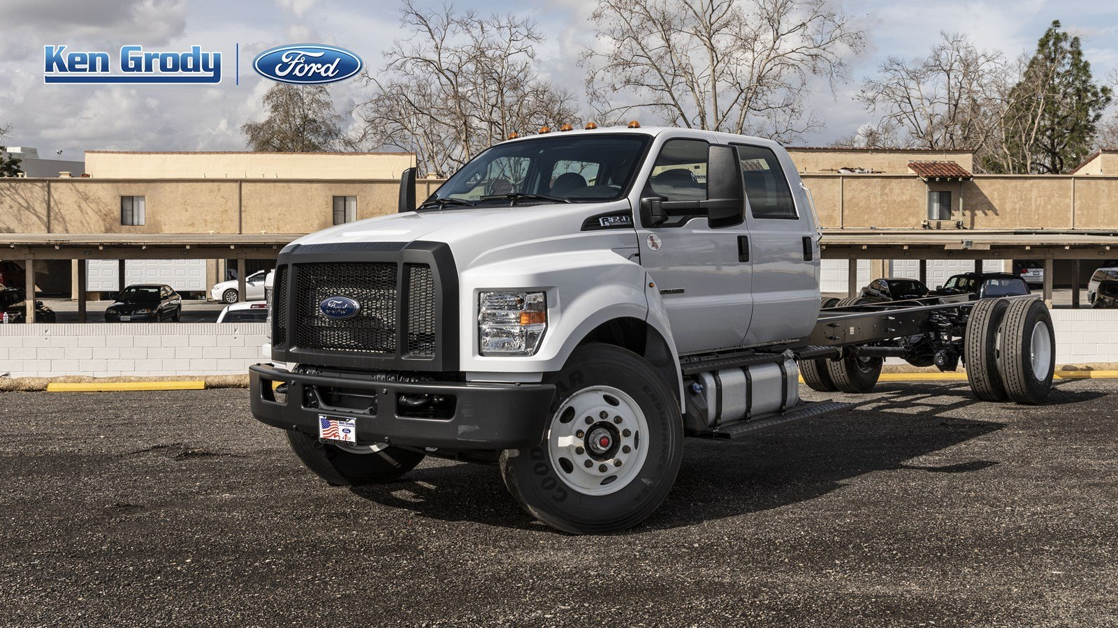 New 2019 Ford F650 Dock HGT