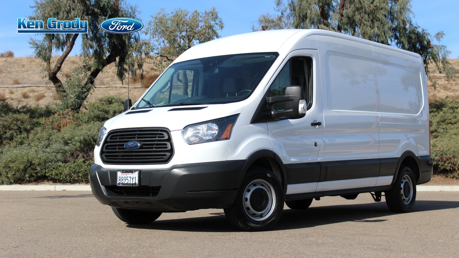Certified Pre Owned 2017 Ford Transit Cargo Van